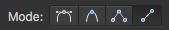 Line mode icon